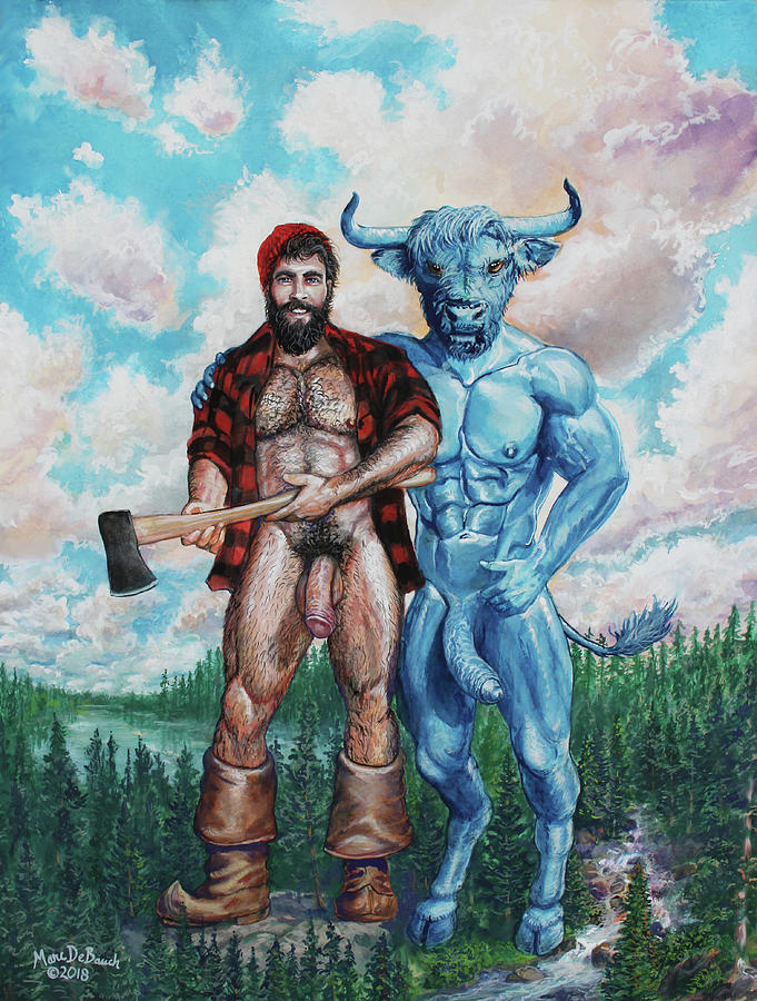 PAUL BUNYAN AND BABE THE BLUE OX by Marc DeBauch