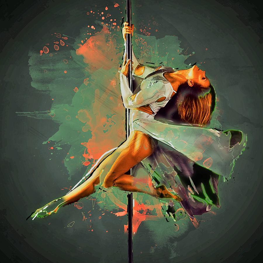Nightclub Painting - Paul Dancer by ArtMarketJapan