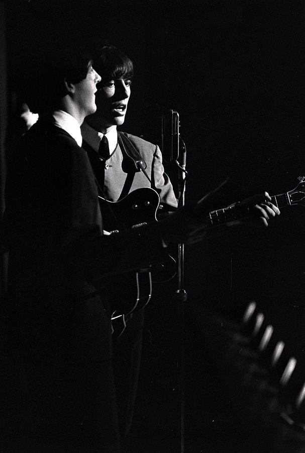 Paul Mccartney And George Harrison Of Photograph by Popperfoto