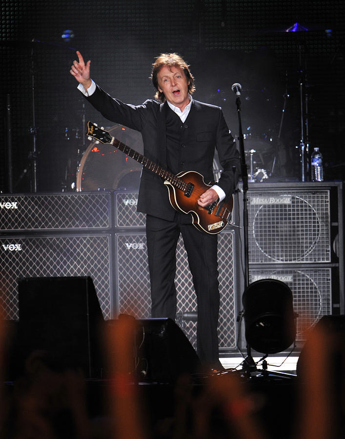 Paul Mccartney Brings The House Down At Photograph by New York Daily News Archive