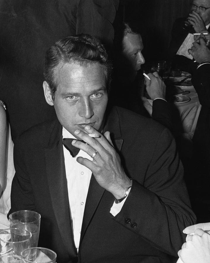 Paul Newman Photograph by William Lovelace