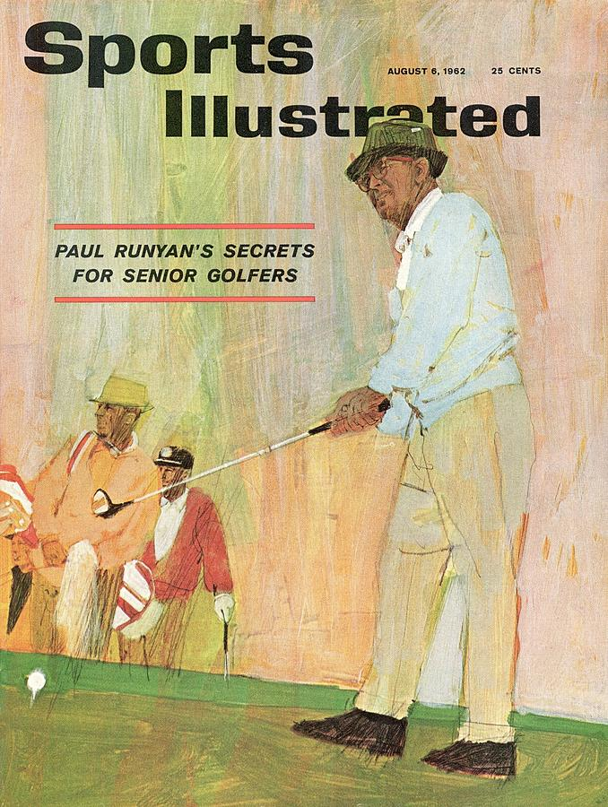 Paul Runyans Secrets For Senior Golfers Sports Illustrated Cover Photograph by Sports Illustrated