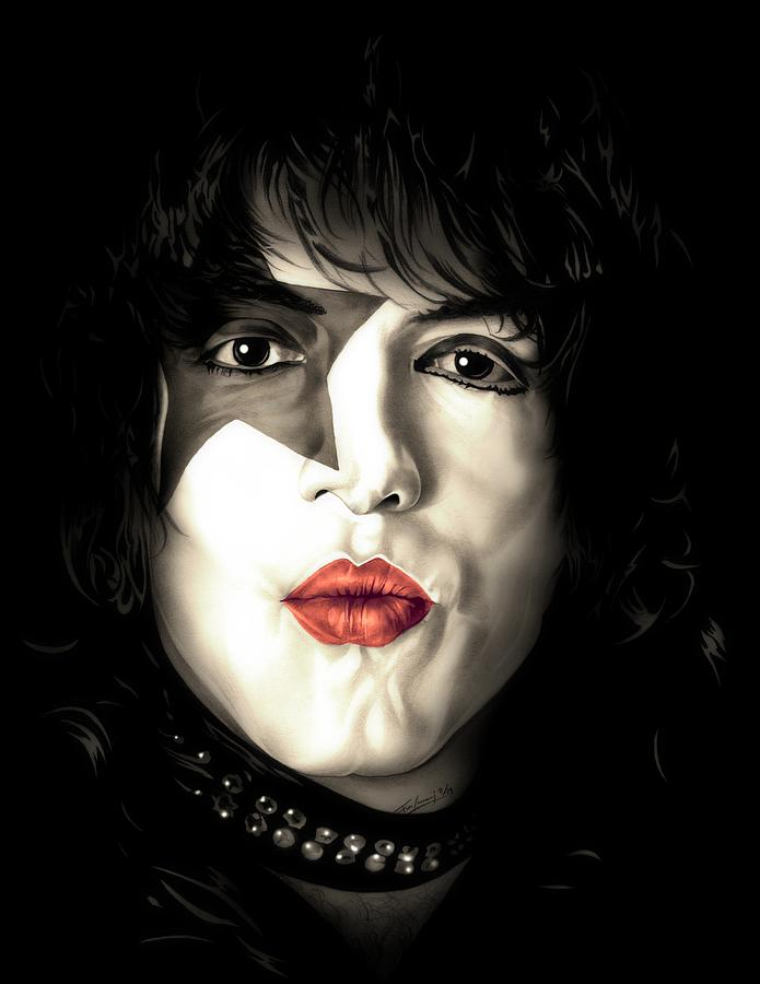 Paul Stanley Colored by Fred Larucci