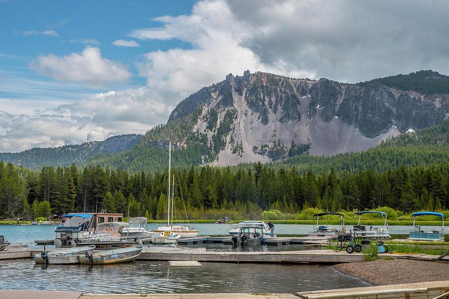 Paulina Lake Pier by Matthew Irvin
