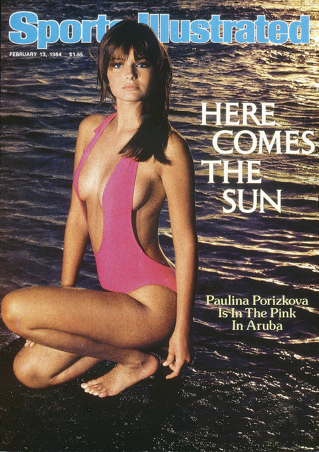 Paulina Porizkova Swimsuit 1984 Sports Illustrated Cover Photograph by Sports Illustrated