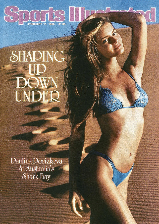 Paulina Porizkova Swimsuit 1985 Sports Illustrated Cover Photograph by Sports Illustrated