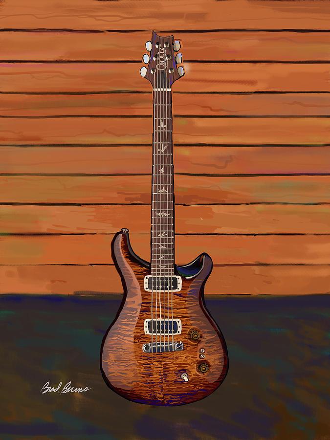 Pauls Guitar Painting