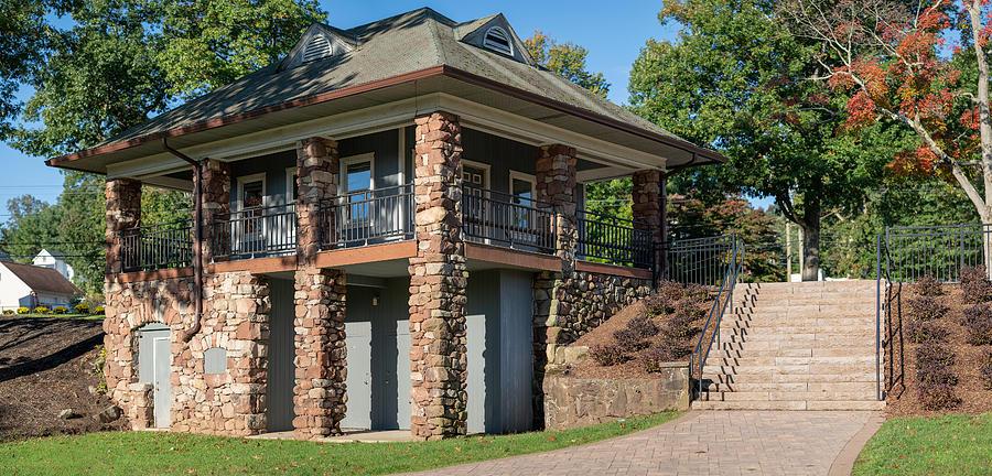 Landscape Photograph - Pavilion At Hubbard by Ryan Pelletier