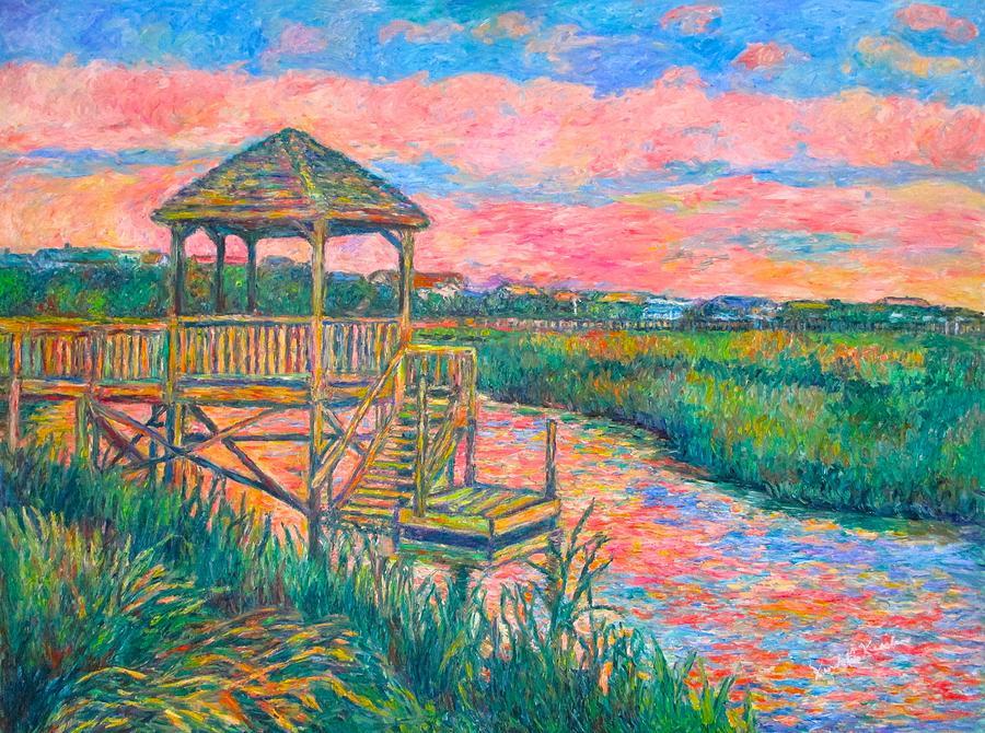 Landscape Painting - Pawleys Island Atmosphere by Kendall Kessler