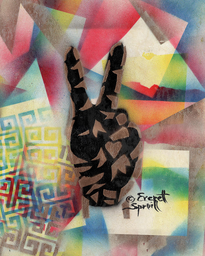 Peace and Love - A by Everett Spruill