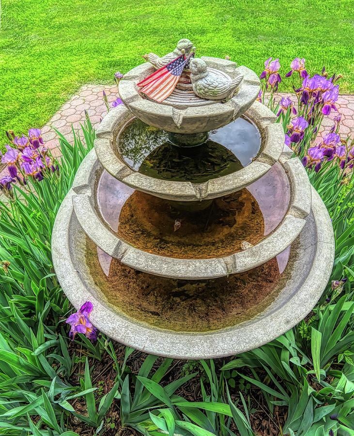 Peace Fountain by Gary Slawsky
