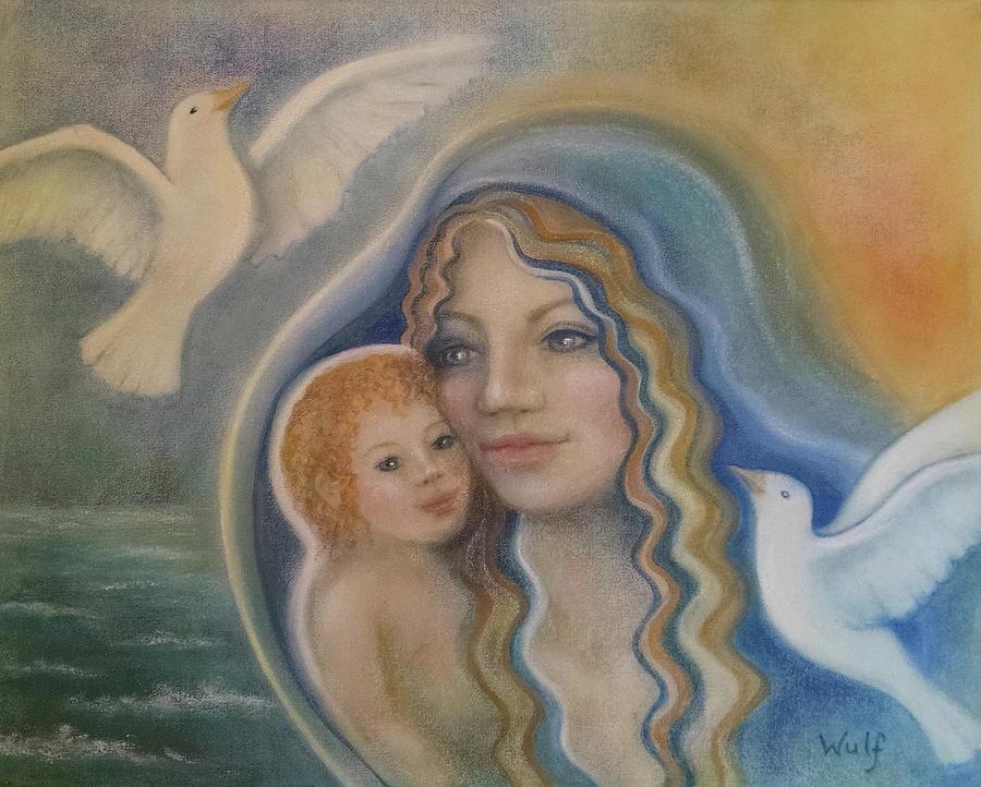 Peace Mother by Bernadette Wulf