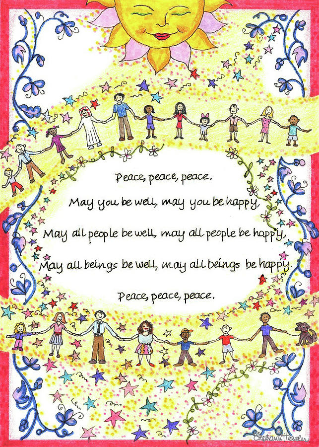Peace, Peace, Peace by Stephanie Hessler