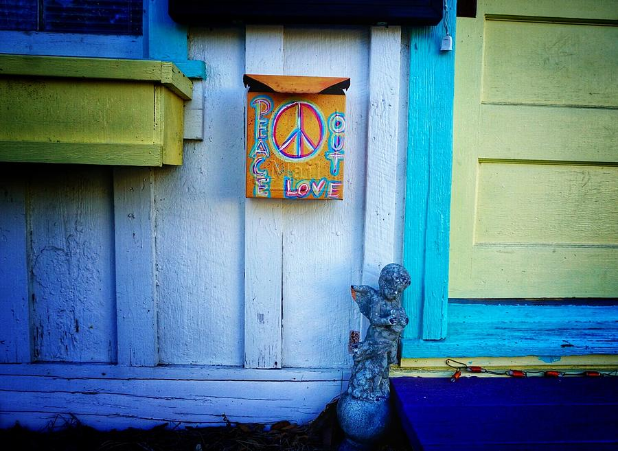 Peace works anywhere by Patricia Greer