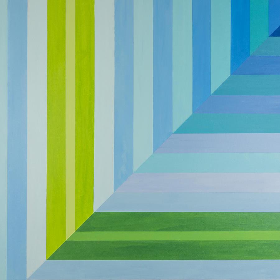 Peaceful Geometric Shade by Lisa Smith
