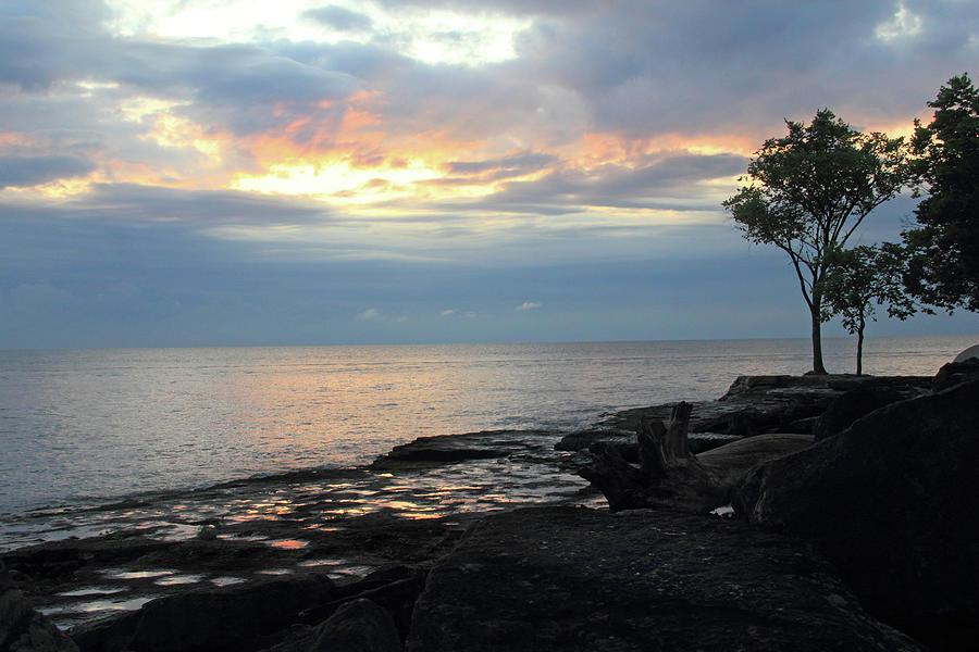 Lake Erie Photograph - Peaceful Lake by Angela Murdock