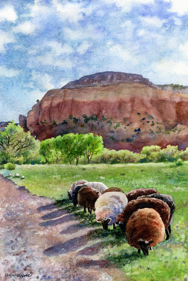 Peaceful Pasture by Anne Gifford