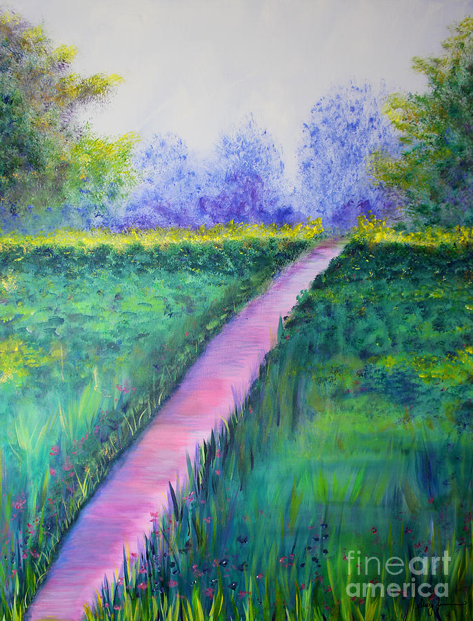 Peaceful Path by Stacey Zimmerman