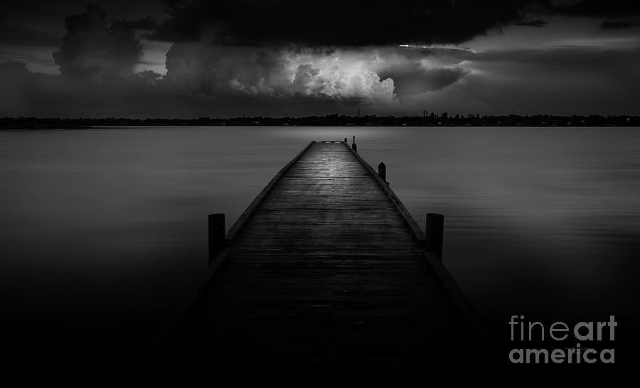 Pier Photograph - Peaceful Retreat by Marvin Spates