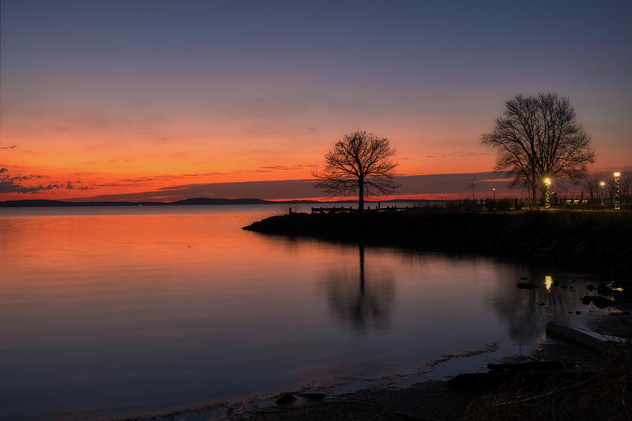 Peaceful Sunrise by Mark Dodd