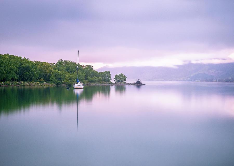 Colourful Sunrise On The Lake In Glenorchy New Zealand by Peter Kolejak