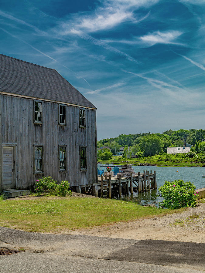 Kennebunkport Photograph - Peaceful View Near Kennebunkport by Betsy Knapp