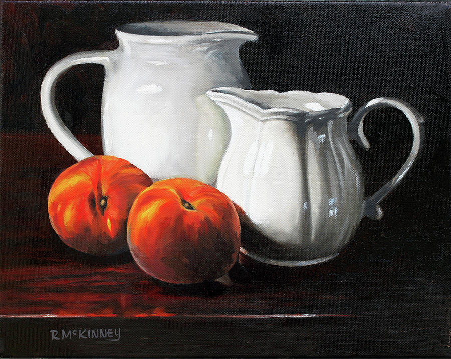 peaches and cream by Rick McKinney