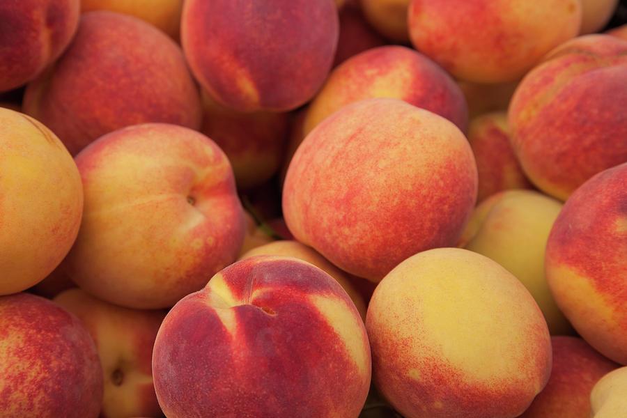 Peaches Photograph by Denisebush
