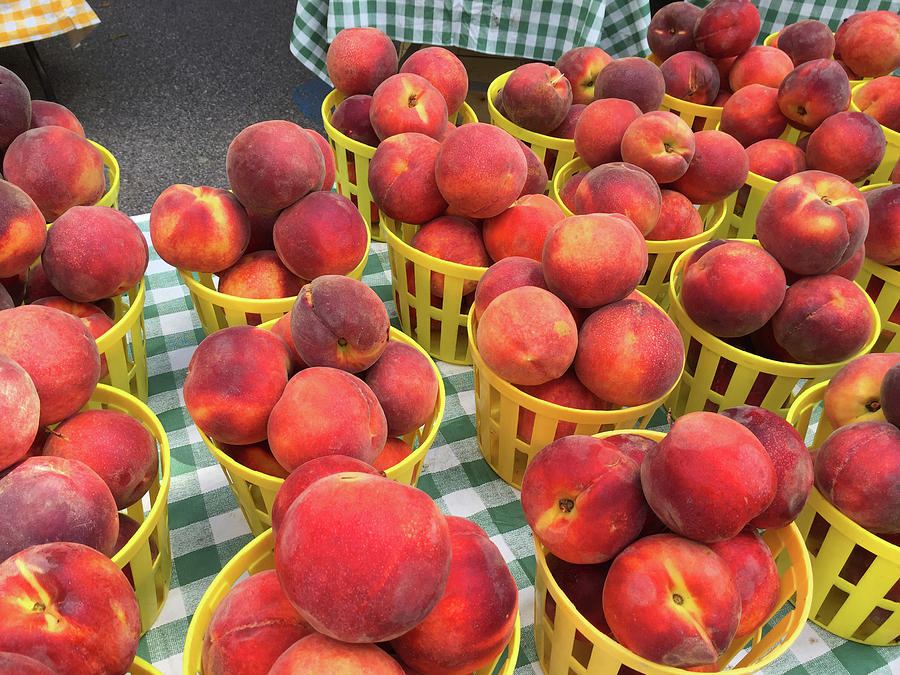 Peaches Photograph - Peaches by Matthew Seufer