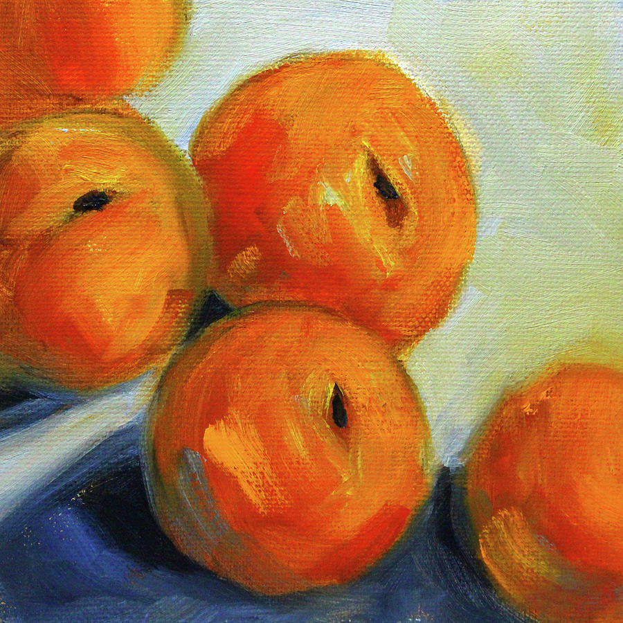 Peachy Summer by Nancy Merkle