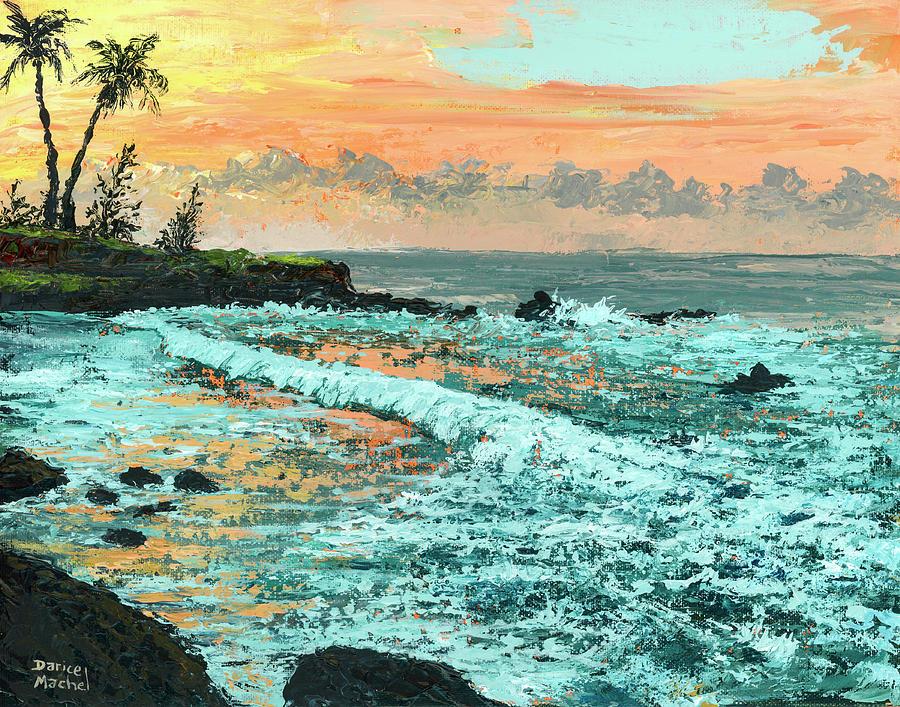 Peachy Sunset by Darice Machel McGuire