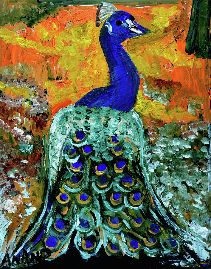 PEACOCK-1 by Anand Swaroop Manchiraju
