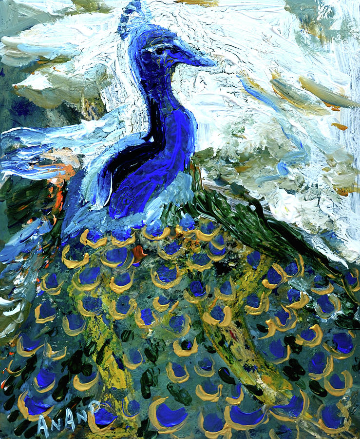 PEACOCK-2 by Anand Swaroop Manchiraju
