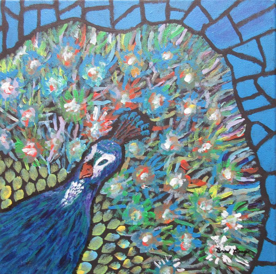 peacock by Bradley Boug