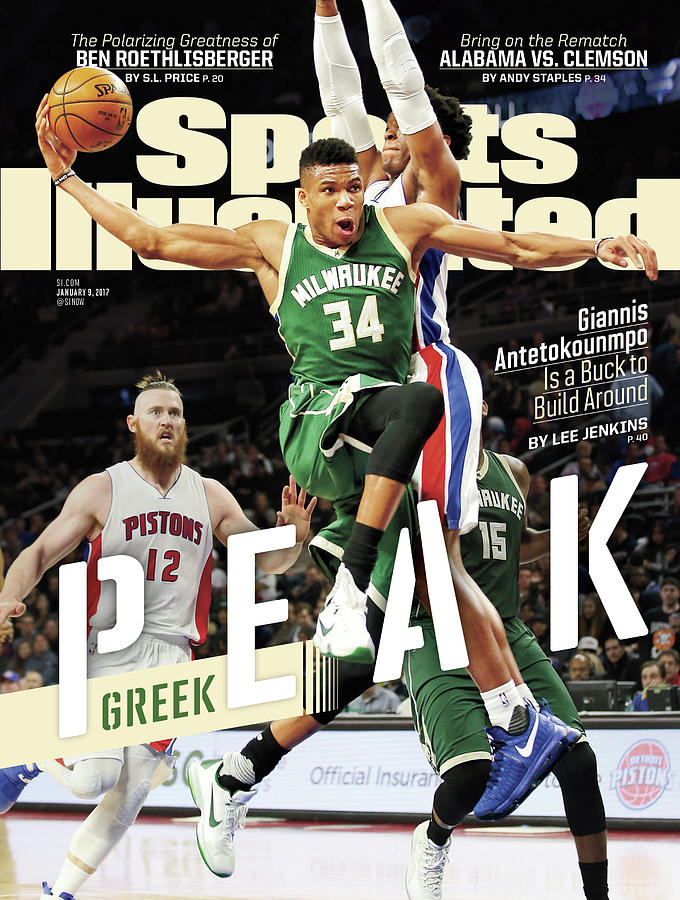 Peak Greek Giannis Antetokounmpo Is A Buck To Build Around Sports Illustrated Cover Photograph by Sports Illustrated