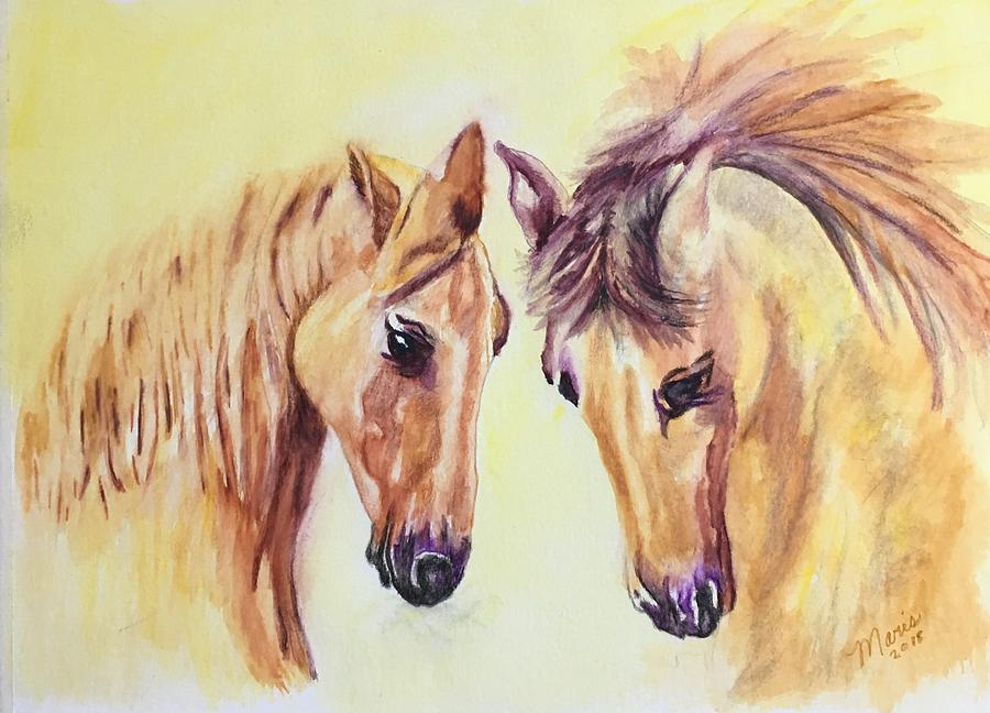 Peanut and Buttercup by Maris Sherwood