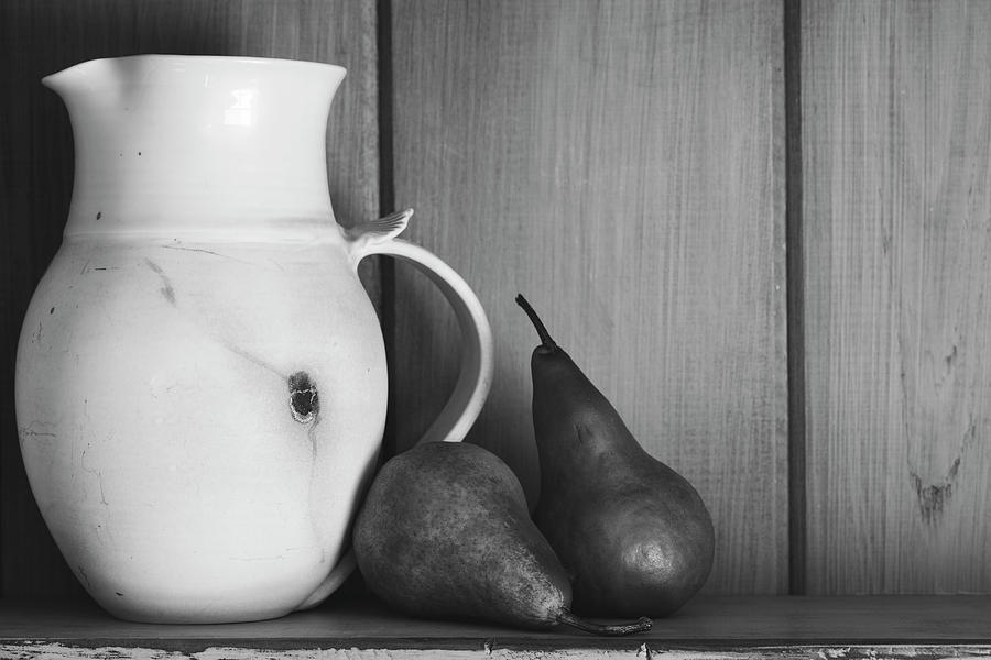 Andrew Pacheco Photograph - Pear Still Life by Andrew Pacheco
