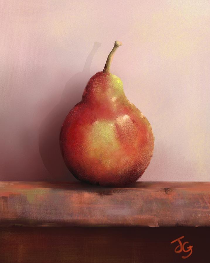 Pear Still life by Joe Gilronan