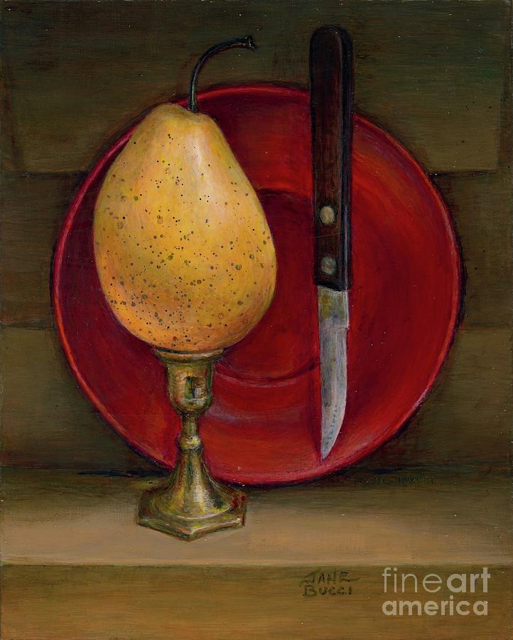 Pear Triumphant by Jane Bucci