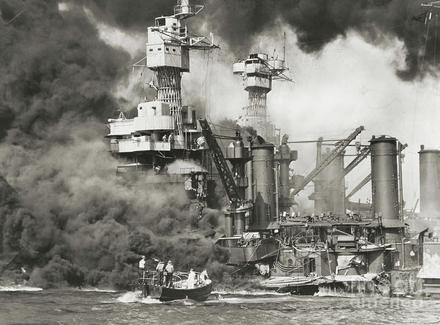 Pearl Harbor Being Attacked Photograph by Bettmann