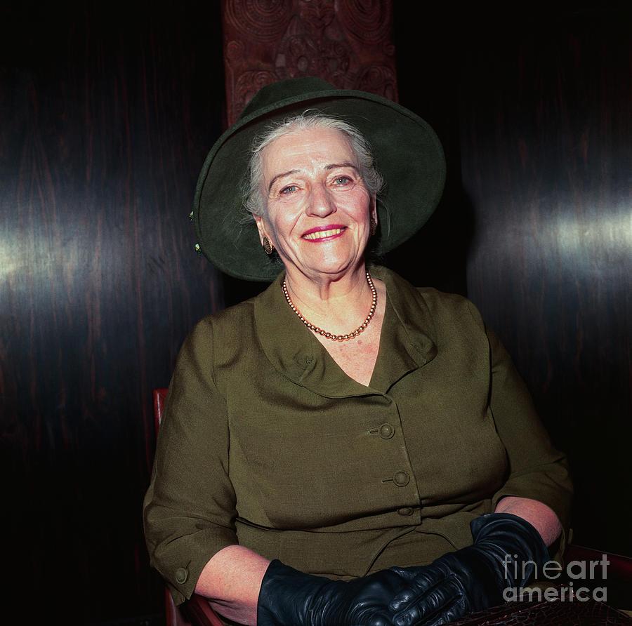 Pearl S. Buck Photograph by Bettmann