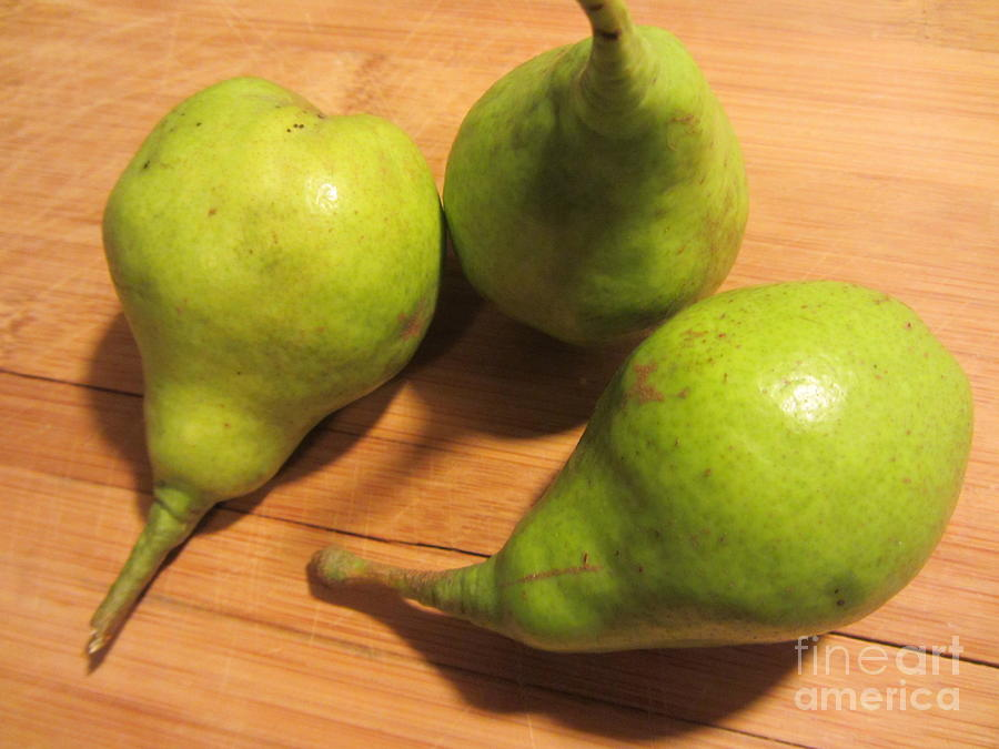 Pears From The Old Orchard by Susan Carella