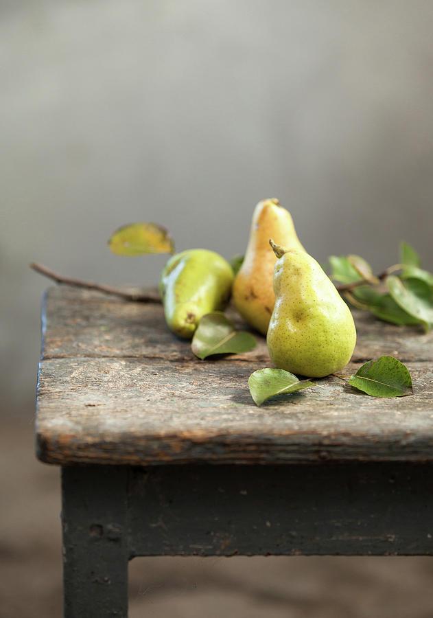 Pears Photograph by Sanjeri