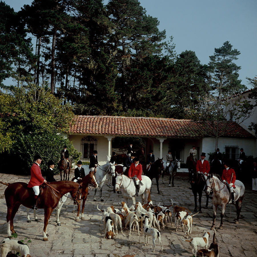 Pebble Beach Hunt Photograph by Slim Aarons