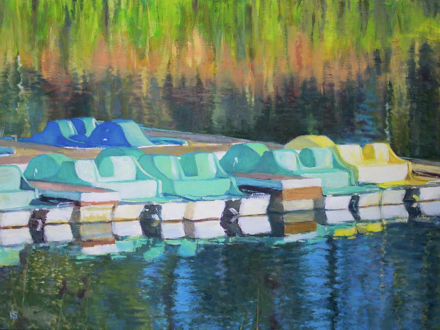 Pedal Boats by Kerima Swain
