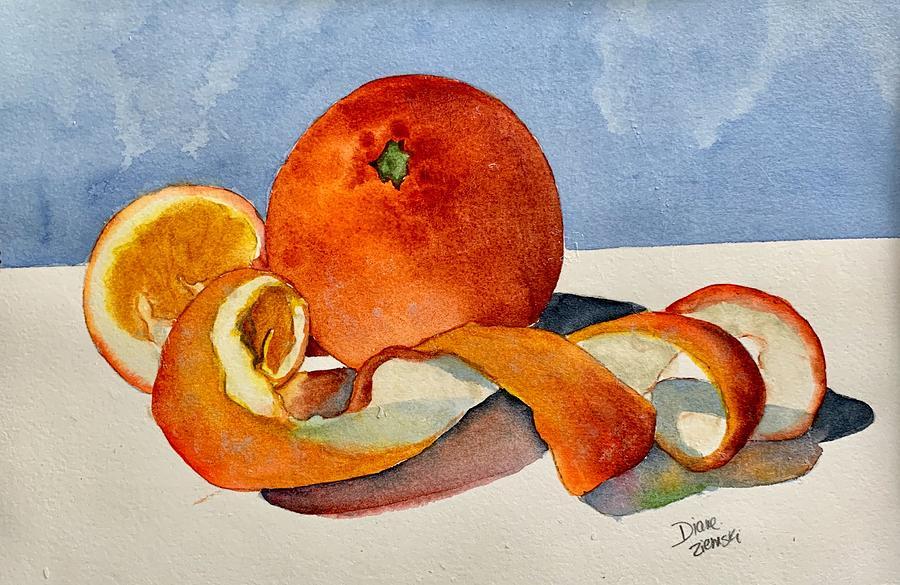 Peeling by Diane Ziemski