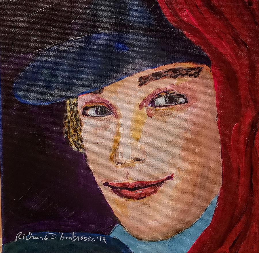 Art Curator Painting - Peeping Thom by Richard DAmbrosia
