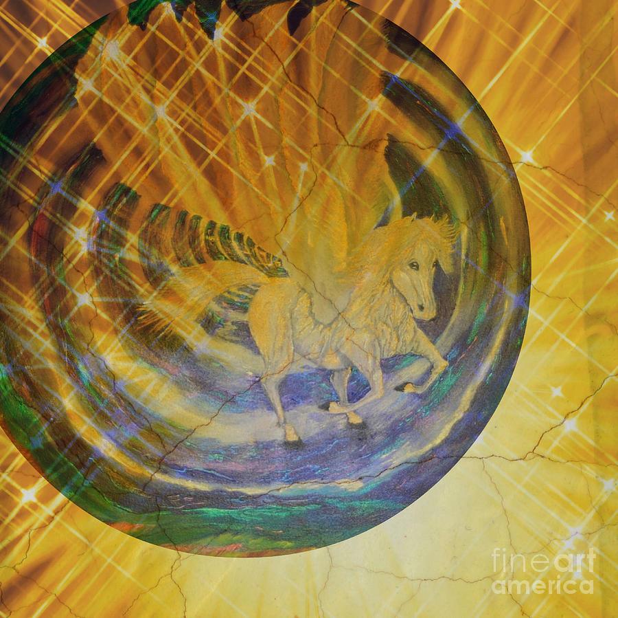 Pegasus Golden Ray by Sabine ShintaraRose