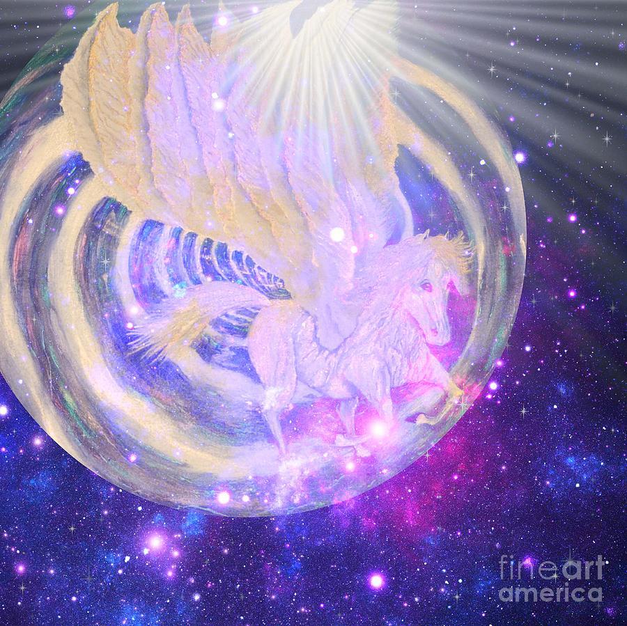 Pegasus  by Sabine ShintaraRose