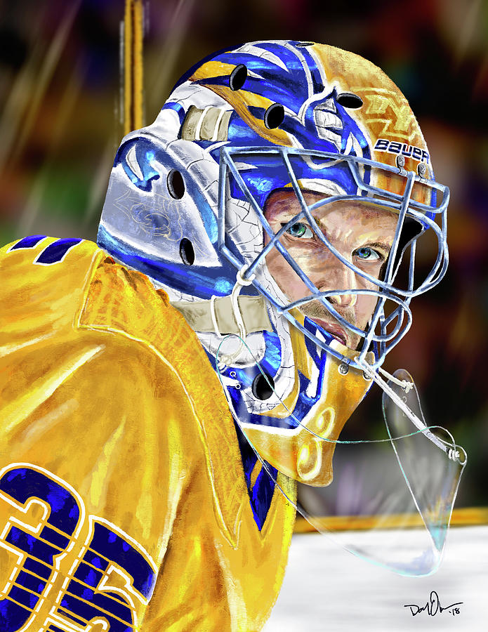Pekka's Game Face by Don Olea